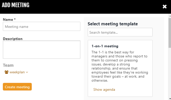 Schedule Meetings